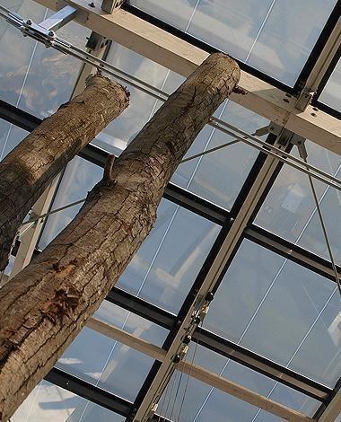 azurmendi restaurant skylight & curtain wall onyx solar