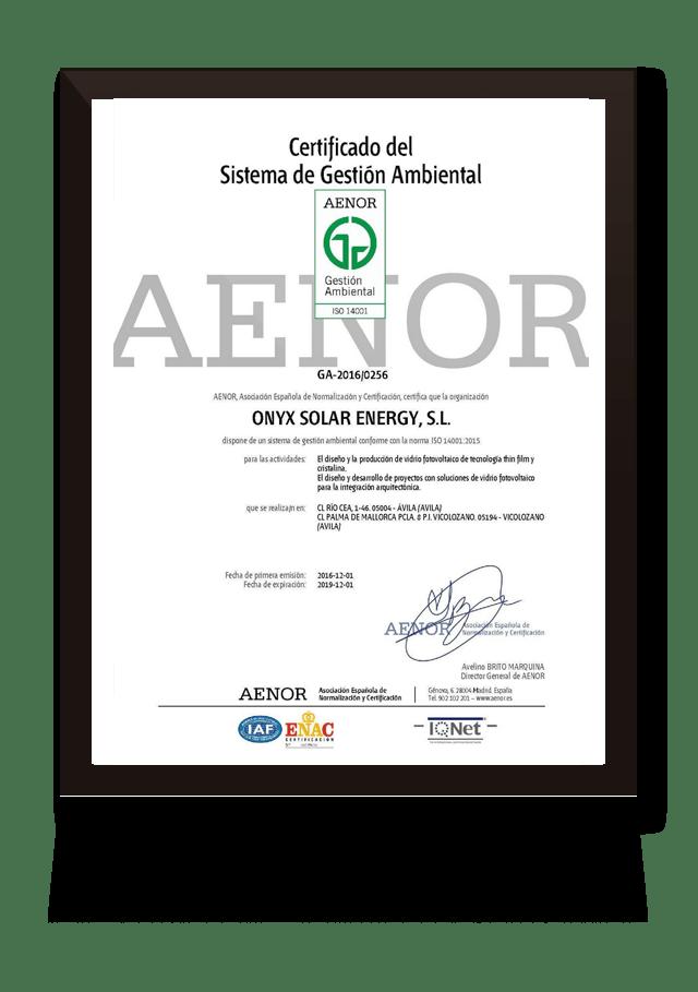 aenor 14001