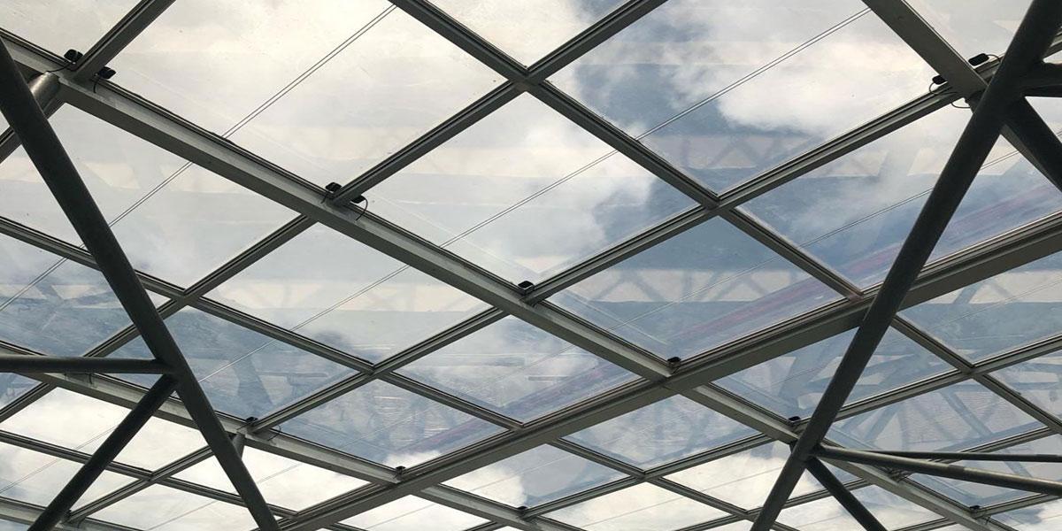 I&M bank photovoltaic skylight onyxsolar