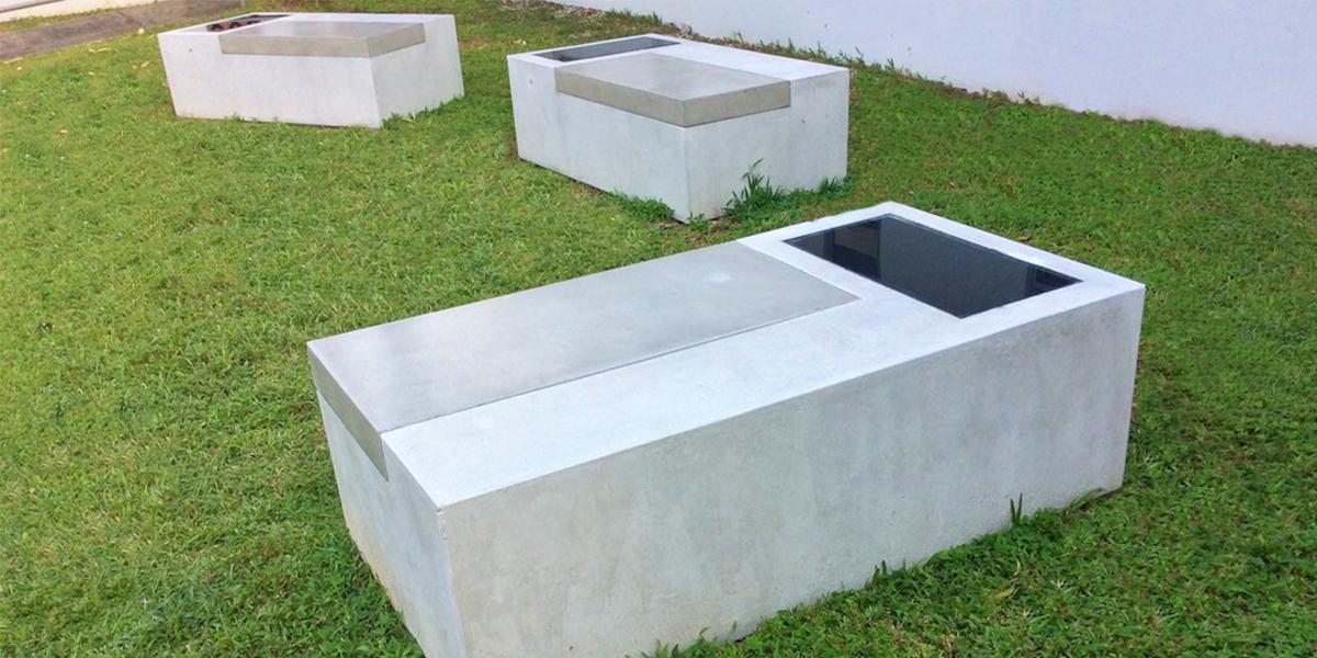 Photovoltaic bench