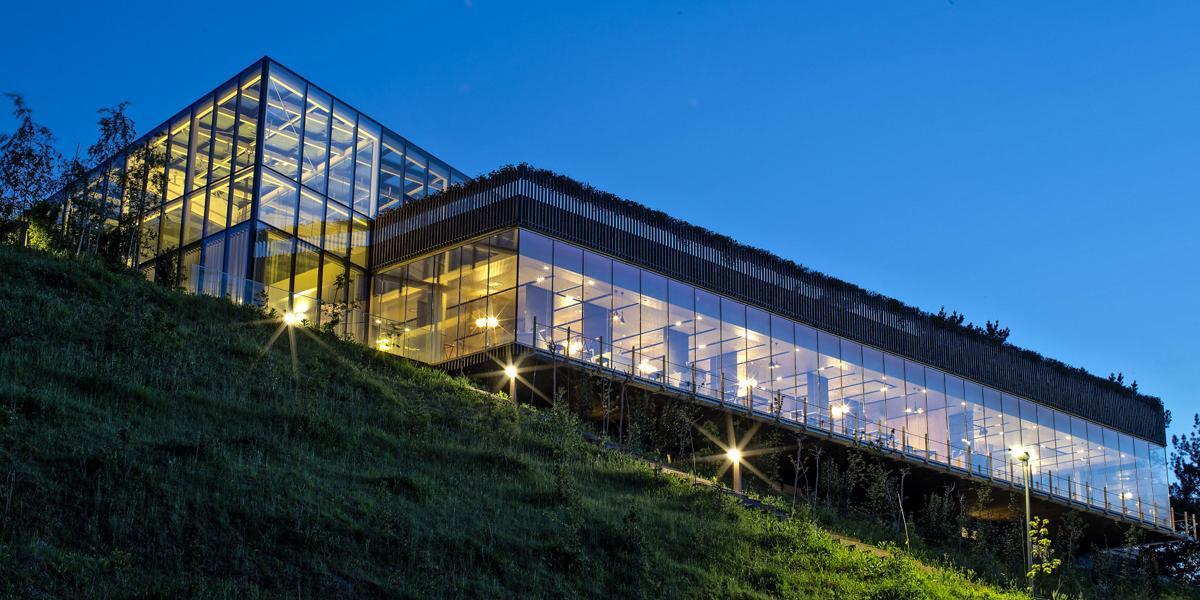 Restaurante Azurmendi Restaurante más Sostenible del Mundo en 2014 Onyx Solar