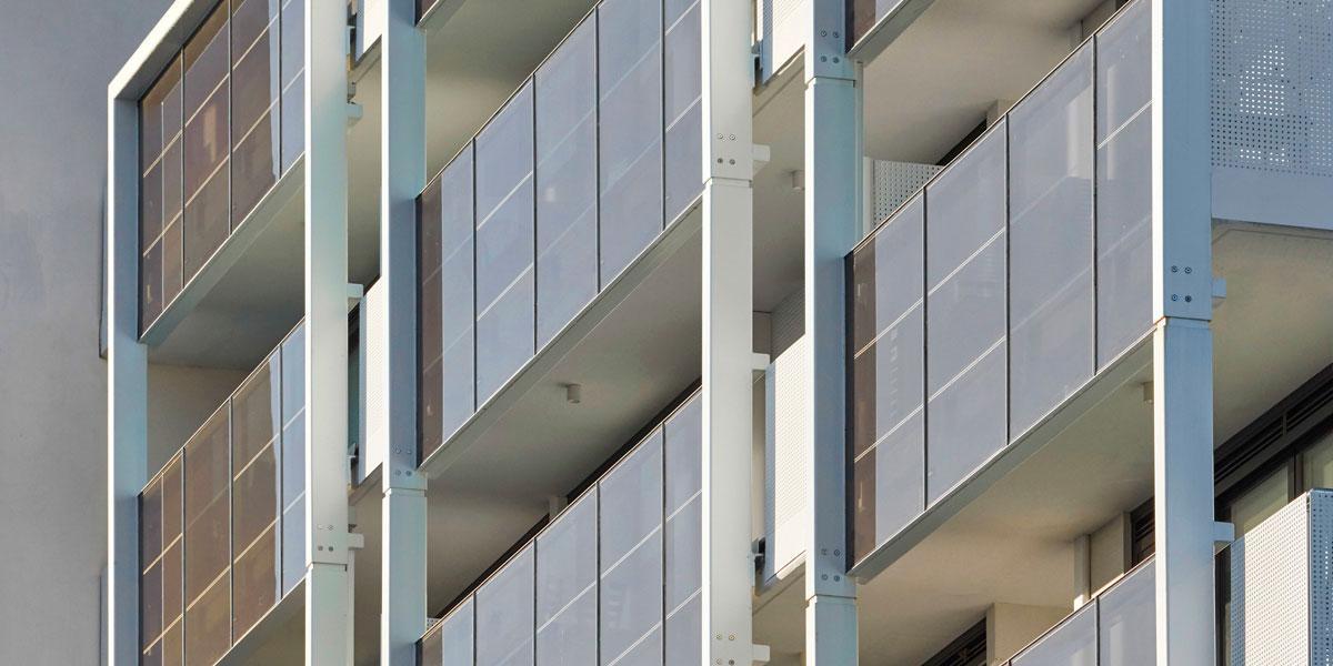 the general photovoltaic façade onyx solar