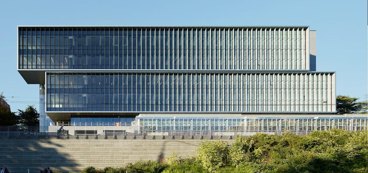 university of washington curtain wall onyx solar