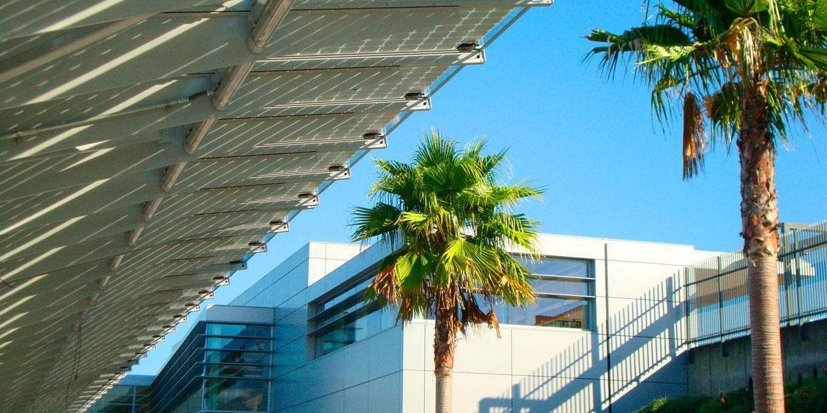 union city photovoltaic canopy onyx solar
