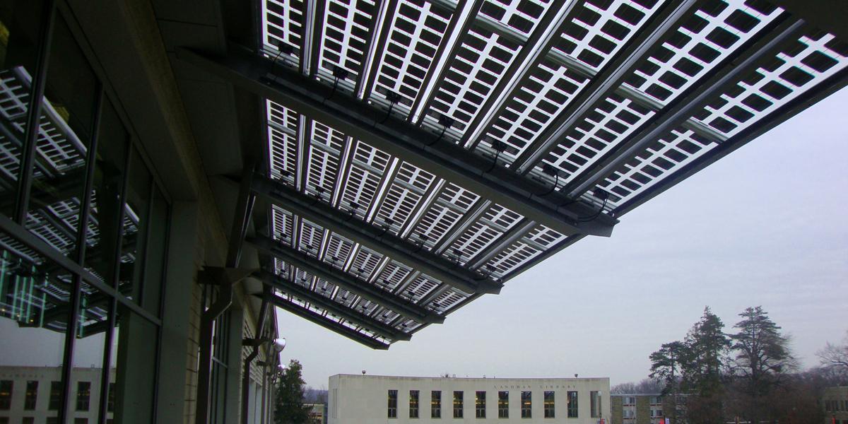 arcadia university photovoltaic canopy onyx solar