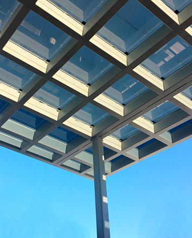 madrona marsh center photovoltaic canopy onyx solar