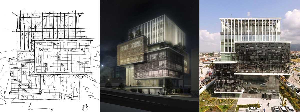 diseño conceptual de edificios bipv