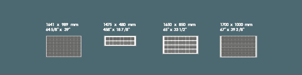 medidas estándar cristalino