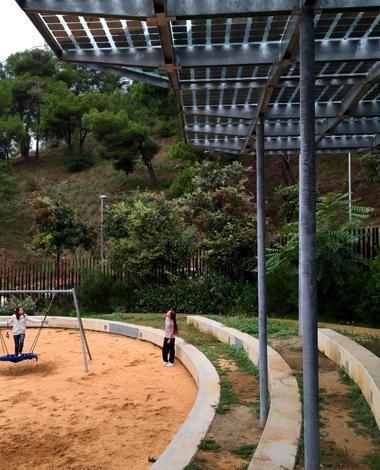 rodrigo caro gardens photovoltaic canopy onyx solar